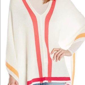 100%Cashmere Poncho/Wrap/Sweater